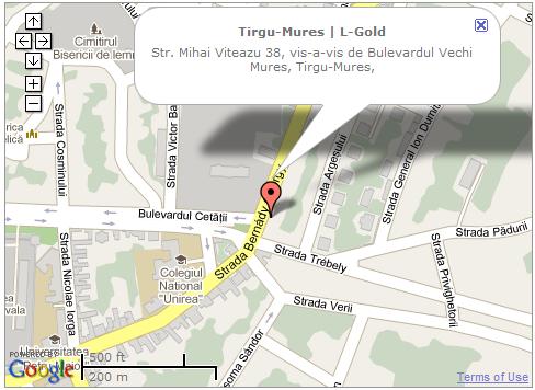 Bijuteria L-Gold din Targu Mures