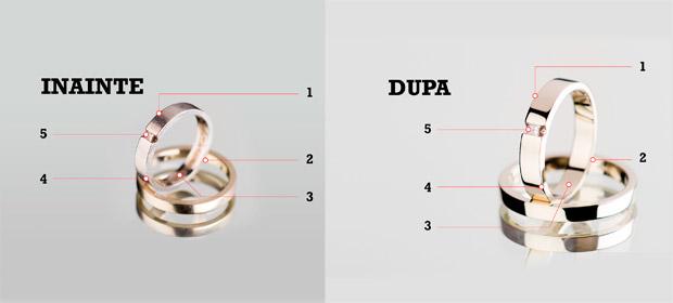 Cum se repara si reconditioneaza verighetele din aur
