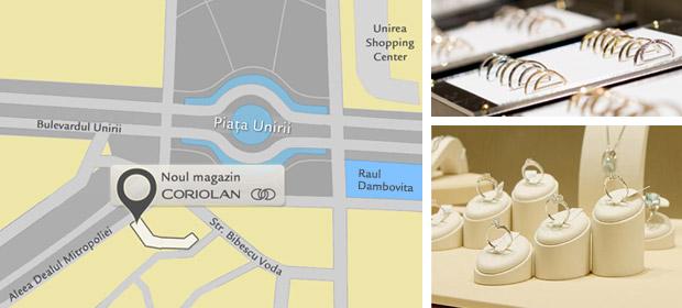 Harta magazin nou Bucuresti