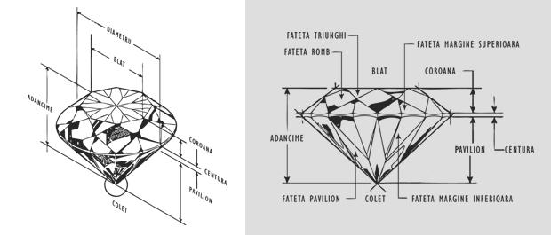 Coriolan - Care e diferenta dintre un diamant si un briliant?